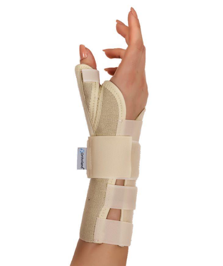 hand wrist splint with thumb