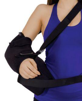 abdüksiyonlu statik gövde destekli kol ortezi bedensiz (30 derece)