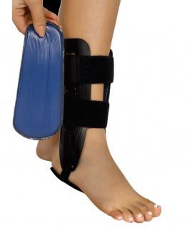 ayak bileği stabilizasyon ortezi (aircast) jelli bedensiz