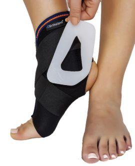 ayak bileği stabilizasyon ortezi (plastik destekli)