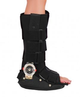 ayarlanabilir eklemli kontraktür ortezi uzun (rom walker)