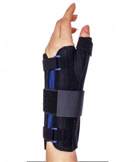 statik başparmak ve dorsel destekli el bilek splinti  bedensiz ( neopren kumaş )