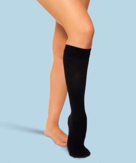 class 1 siyah varis çorabları 18-21 mmhg