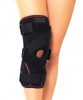 ligament ve patella destekli çapraz bantlı dizlik