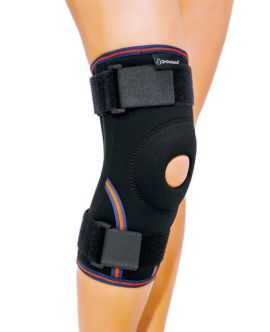 ligament ve patella destekli velkrolu dizlik