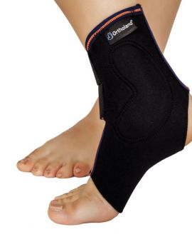 malleol destekli (pedli) ayak bilekliği