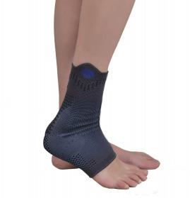 malleol destekli (silikonlu) ayak bilekliği (örgü kumaş)
