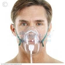 oksıjen maskesı yetıskın
