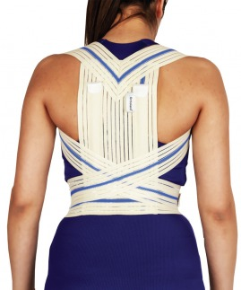 postureks korse / omuz retraksiyon harnesi bedensiz (misineli kumaş)