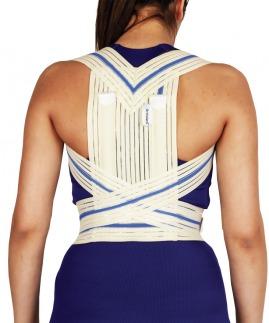 postureks korse / omuz retraksiyon harnesi (misineli kumaş)