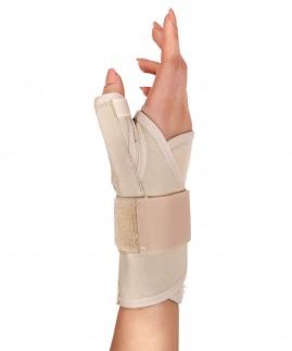 statik başparmak destekli el bilek splinti bedensiz (koton kumaş)