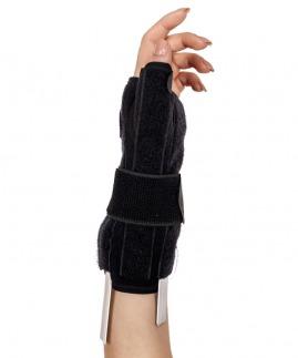 statik başparmak destekli el bilek splinti çift taraflı bedensiz ( neopren kumaş )