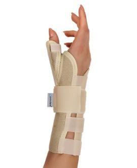 statik başparmak destekli el bilek splinti (koton kumaş)