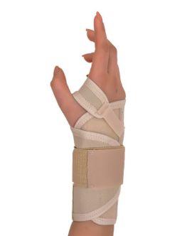 statik el bilek splinti bedensiz (koton kumaş)