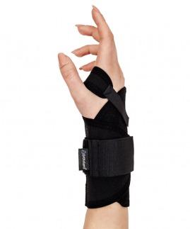 statik el bilek splinti bedensiz siyah  (koton kumaş)