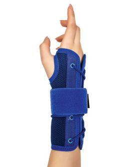 statik el bilek splinti mavi bedensiz (airtex kumaş)