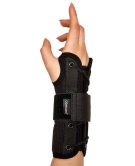statik el bilek splinti siyah bedensiz (airtex kumaş)