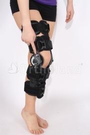 telescopic rom brace (açı ayarlı on-off butonlu diz ortezi)ithal bedensiz